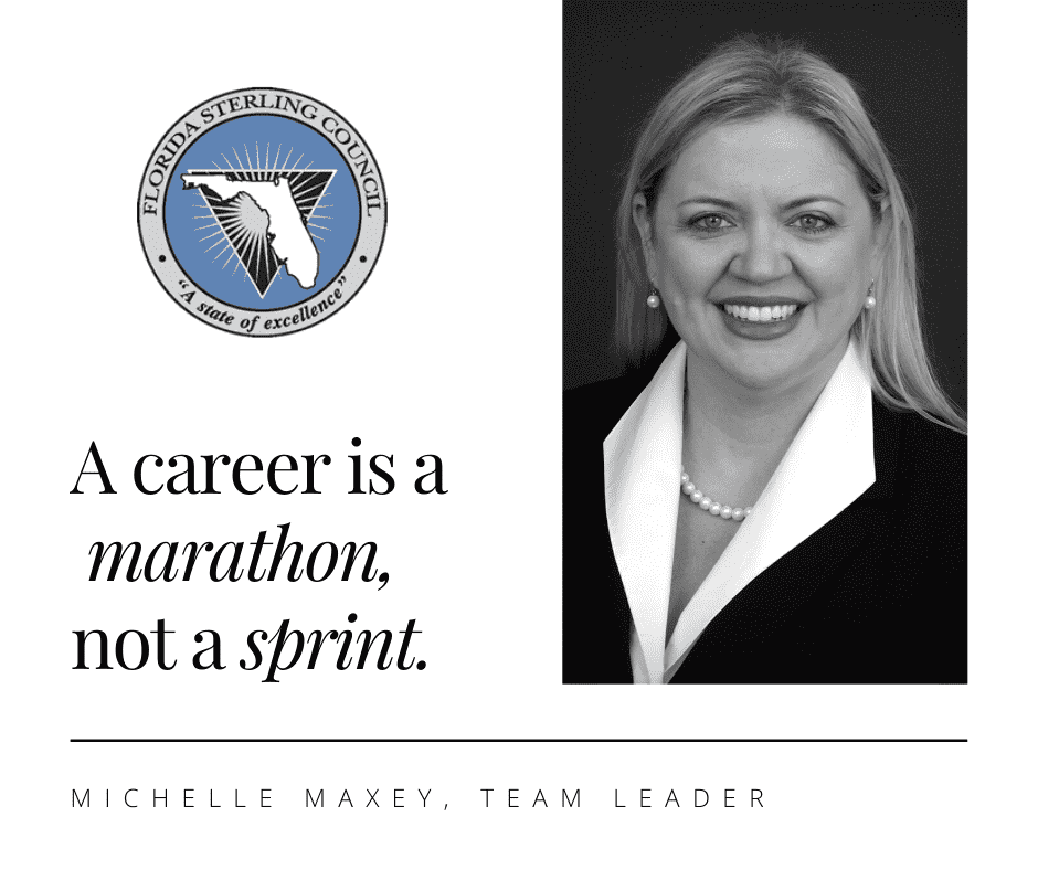 Michelle Maxey, Team Leader, shares her wisdom on how she rose in ranks from a high school intern to senior leadership.