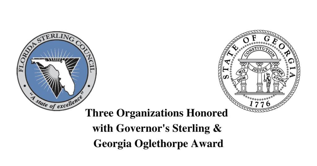 Florida Sterling Council honors three diverse role model organizations.
